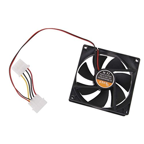 Ventilador Ordenador Enfriador 4 Pin 80mm de la CPU PC DC 12v 80x80x25mm 8cm V5