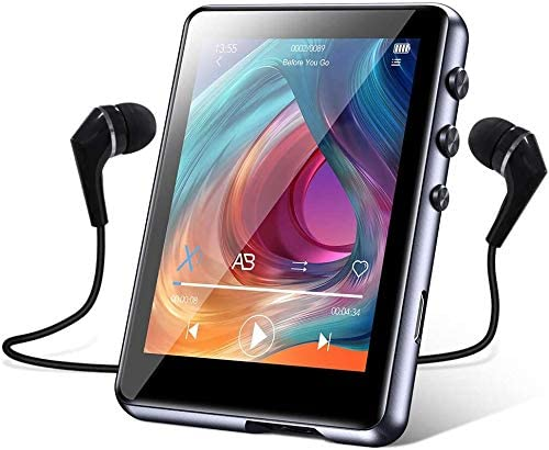 32GB MP3 Player with Bluetooth 5 0 Music Player with 2 4inch Full Touch Screen HiFi Lossless product image