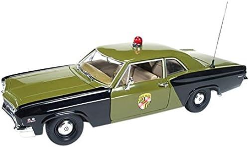 auto world 1 18 Chevrolet Biscayne 1966 Maryland State Police by Kyosho