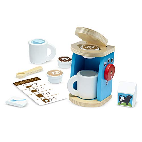 Melissa & Doug 11-Piece Coffee Set (FFP),Multi