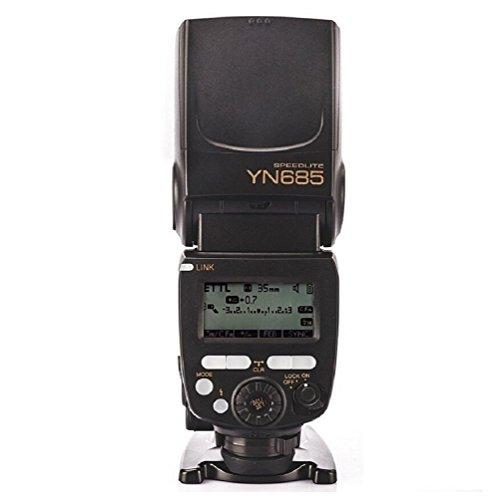 Yongnuo YN685 i-TTL HSS 1 / 8000s GN60 2.4G Wireless Speedlight Blitz Speedlite Blitzgeräte Blitzlampe Blitzleuchte für Nikon D7200 D7100 D7000 D5500 D5300 D5200 D3300 D3200