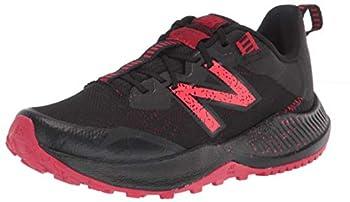 New Balance Dynasoft Nitrel V4 Running Shoe Black/Energy Red 2.5 Wide US Unisex Little_Kid