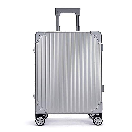 Ys-s Shop customization All-aluminum-magnesium alloy trolley case large hinge aluminum wheel detachable universal wheel suitcase,waterproof, wear-resistant,shock-proof fashion trend trolley case