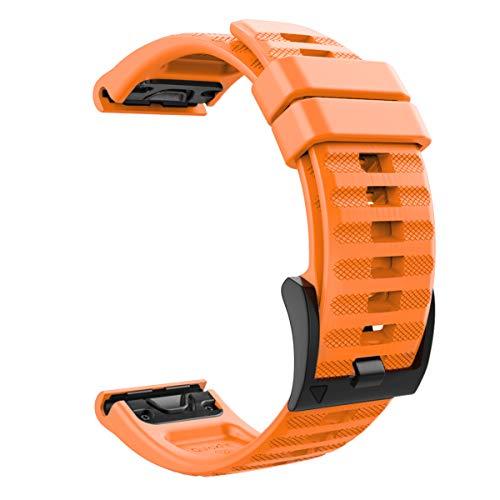 MoKo Bracelet de Rechange réglable en Silicone Souple 22 mm de Largeur pour Garmin Fenix 6/6 Pro/5/5 Plus/Forerunner 935/Forerunner 945/Approach S60/Quatix 5