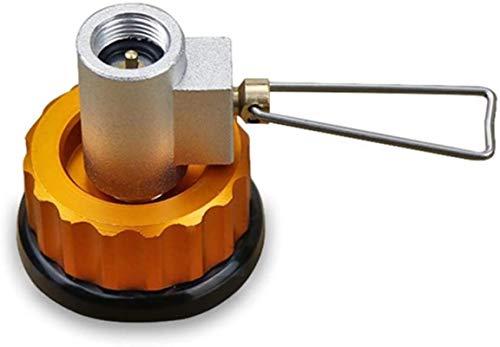 DUDDP Gas Adaptador Adaptador de tanque del butano Recariador de recarga de relleno del tanque de gases de gasa de gas de gasa de gas de barcos extra de barconelamiento Adaptador de válvula CAMPER GAS