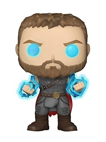 "Funko ""POP Marvel: Thor Ragnarok Thor with Odin Force Collectible Figure, Multicolor 30754"