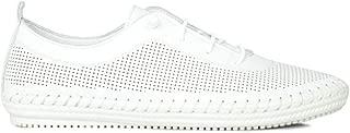 Erkan Kaban 625040 468 Kadın Beyaz Deri Günlük Ayakkabı