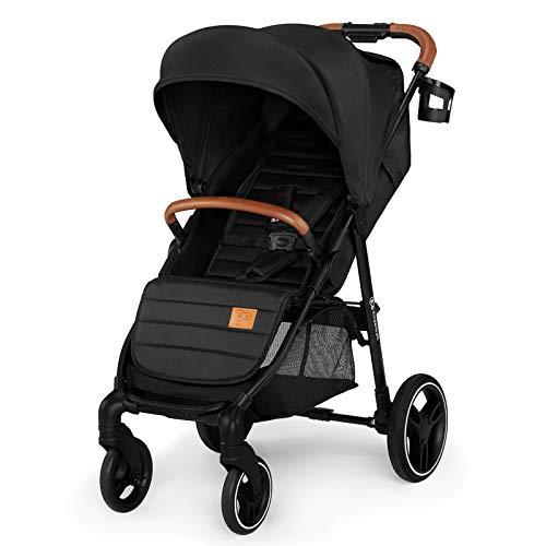 Kinderkraft Silla de paseo de bebe GRANDE 2020 Acabado elegante Práctico Cochecito con Grande capota desplegable Amortiguación todas ruedas Saco...