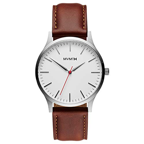 MVMT Watches 40 Series - Reloj de pulsera para hombre (piel, color...