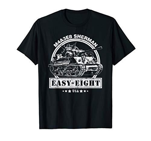 M4A3E8 Sherman Panzer T-Shirt