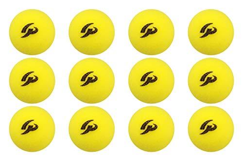 GP (ジーピー) 野球バッティングトレーニングボール スポンジ素材 黄色 70mm 12個入り 34142