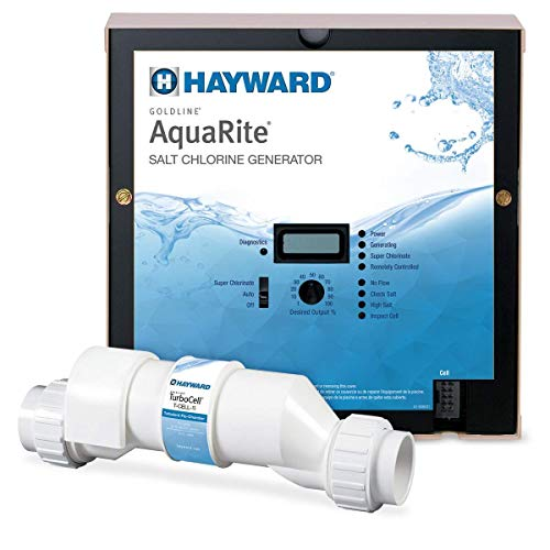 Hayward W3AQR15 Pool Salt System, 40,000 Gallon, White