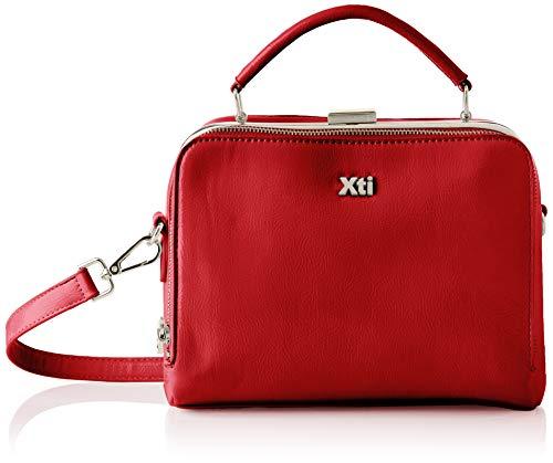 XTI 86451, Bolso Sra. Charol Rojo para Mujer, Talla