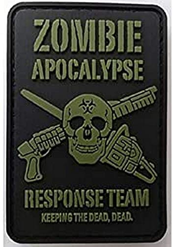Kombat Zombie Apocalypse Response Team Patch PVC With Velcro Backing