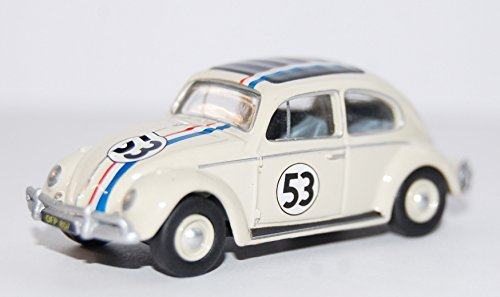 VW escarabajo exportar, Herbie, No.53, 1963, Modelo de Auto, modello completo, Oxford 1:76
