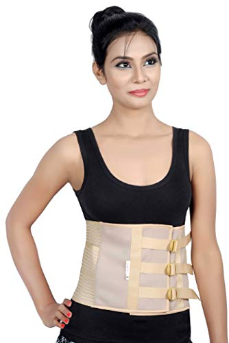 Wonder Care Abdominal Belt after delivery Tummy Reduction Trimmer Belly Slimming Binder for Women & Men Abdomen Compression Support Brace (Medium)
