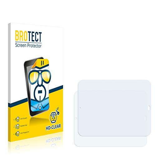 BROTECT Schutzfolie kompatibel mit HP TouchPad (2 Stück) klare Bildschirmschutz-Folie