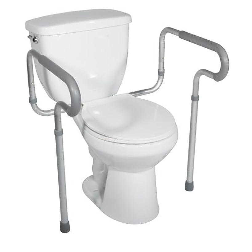 Drive Medical Toilet Safety Frame, White