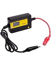 12-72V 4A鉛蓄電池 サルフェーション 除去 バッテリー寿命延命装置 バッテリーチェッカー
