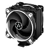 ARCTIC Freezer 34 eSports DUO - Ventola de CPU, Enfriador de CPU Push-Pull, Motor Silencioso, Desde 200 hasta 2100 Rpm, 2 Ventiladores PWM 120mm - Blanco