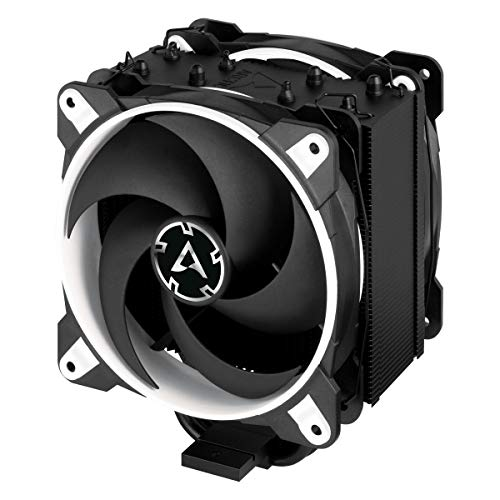 ARCTIC Freezer 34 eSports DUO - Tower CPU Luftkühler mit BioniX P-Serie Gehäuselüfter in Push-Pull, 120 mm PWM Prozessorlüfter für Intel und AMD Sockel - Weiß