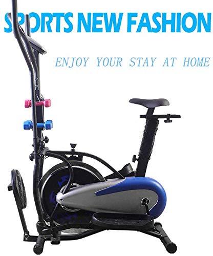 RUN Erguida la Bicicleta estática, Carga máxima de 120 Kg Fácil de Usar/para el Entrenamiento Diario El Ejercicio aeróbico/Pata/Ejercicio de la Yoga