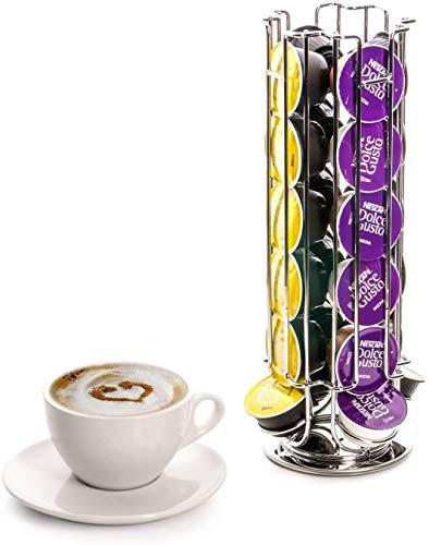 Zoek een reserve roterende koffiehouder 32 capsules voor Dolce Gusto koffiemachines