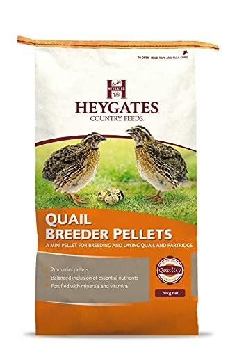 Heygates Quail & Partridge Breeder/Layers Pellets (20Kg)