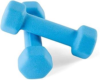 Portzon Set of 2 Neoprene Dumbbell Hand Weights