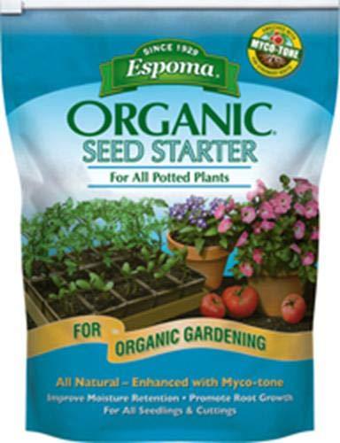 Espoma SS16 16-Quart Organic Seed Starter Premium Potting Mix