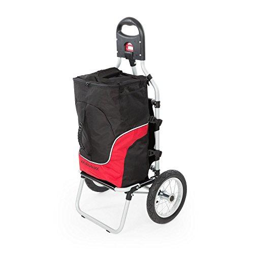 Duramaxx Carry - Carrito Remolque para Bicicleta, Carga hasta 20 kg, Bolso...