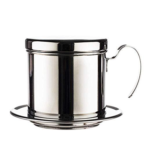 Koffiezetapparaat, RVS Filter van de koffie Trechter Premium Giet over Coffee Filter Herbruikbare en Portable Huishoudelijke Brewing Pot for kopjes koffie XIUYU