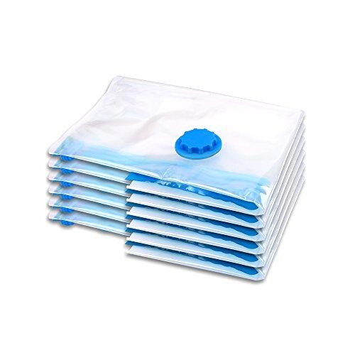 Schramm® Sacco sottovuoto da 6 Pezzi Sacco sottovuoto da 6 Confezioni da 40x60cm Sacco sottovuoto Sacco sottovuoto Sacco per Abiti
