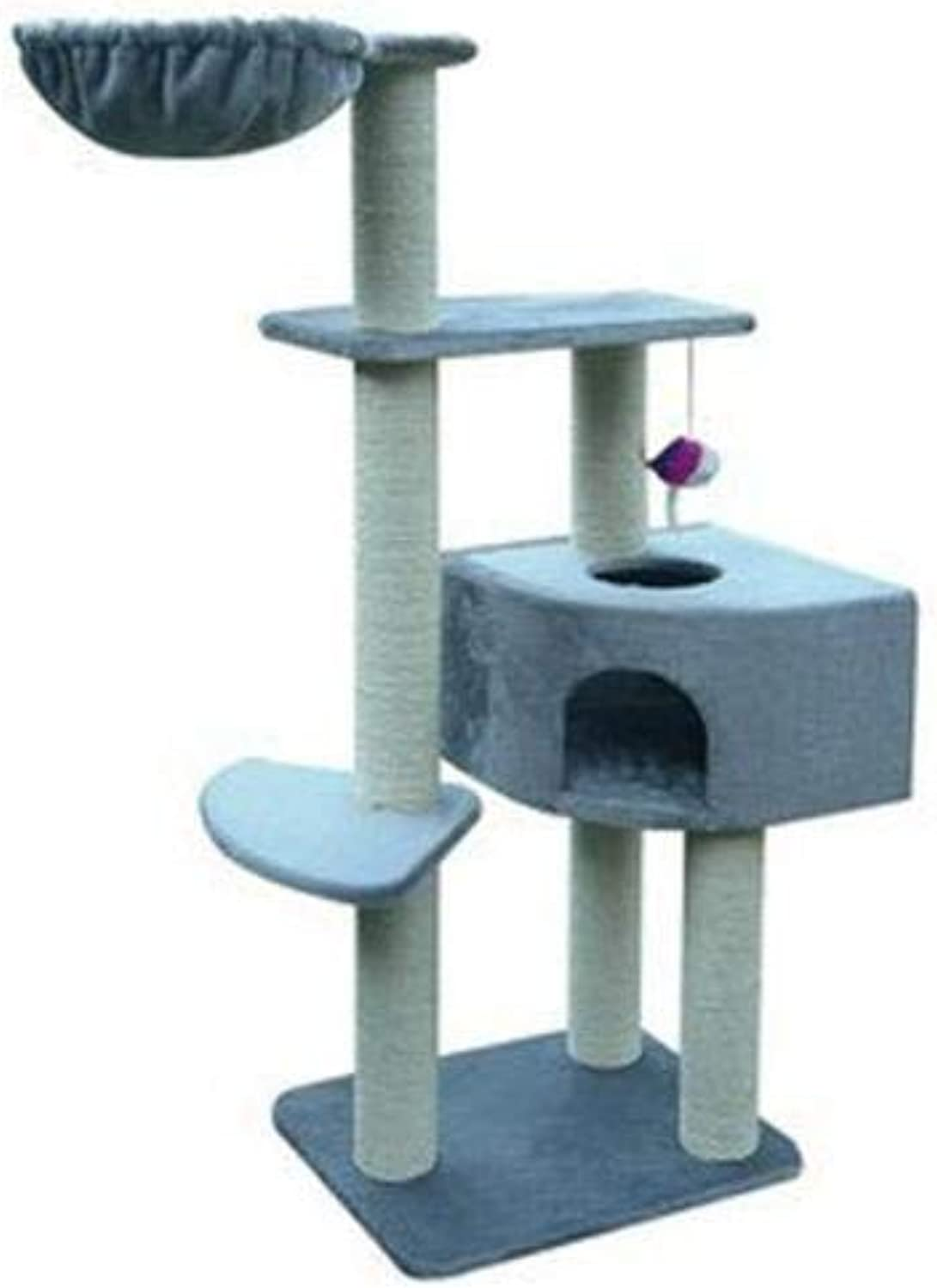 Axiba Play Towers Trees for Cats Cat climb frame cat nest cat Tree Cat Scratch Plate cat litter cat Tree cat toy cat Jumping
