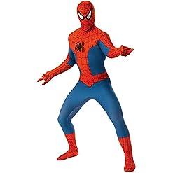 Rubies Mens Marvel 2nd Skin Spider Man Large