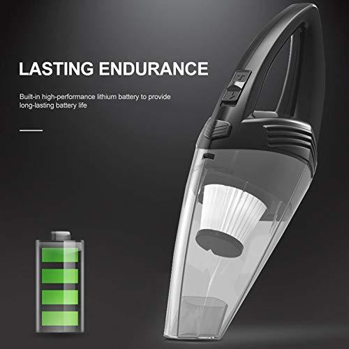 Car draadloze draadloze stofzuiger Portable Handstofzuiger Nat en droog voor tweeërlei gebruik Auto Vacuum Auto Electrical Appliances, Spanje