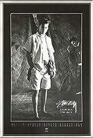 ポスター ステューシー ステューシー20th Anniversary プリント05 額装品 アルミ製ベーシックフレーム(ライトブロンズ)
