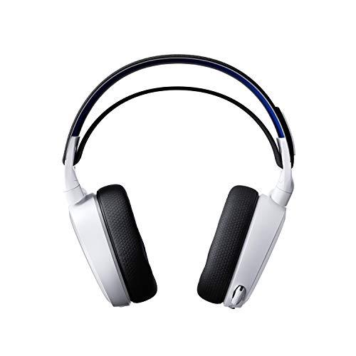 SteelSeries Arctis 7P Wireless - Verlustfreies kabelloses 2.4 GHz Gaming Headset - Für PlayStation 5 und PlayStation 4 - Weiß