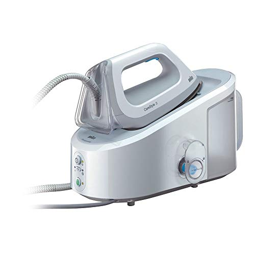 Braun Carestyle 3 IS3042/1WH - Centro de planchado, 2.400 w, 120 g/min, 5,5 bar,...