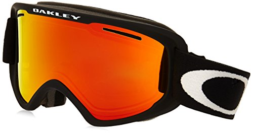 Oakley Uni Skibrille O2 XM Injected Unisex Google, MATTE BLACK, EL. ADJUSTABLE