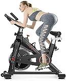 WGFGXQ Bicicleta estática estacionaria 300 Libras Pedal de Ejercicio Interior pérdida de Peso Equipo de Fitness Ultra silencioso