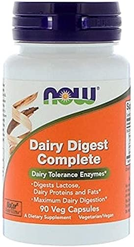 Getsocio Now Supplements, Dairy Digest Complete, Digests Lactose, Dairy Proteins and Fats*, Dairy Tolerance Enzymes*, 90 Veg Capsules