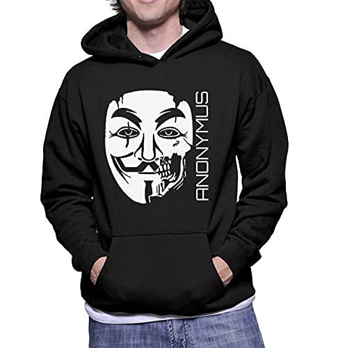 Moletom Masculino Anonymous Nerd Geek Filmes V De Vingança (Cinza, G)