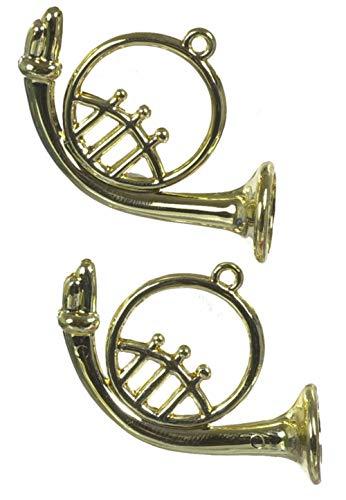 Dollhouse Miniature French Horns