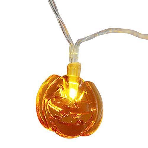 TankMR Halloween pompoen vlamloze LED lantaarn lamp waxinelichtje realistische heldere flikkerende lamp op batterijen, Halloween-decor