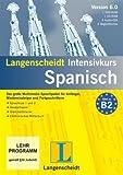 Langenscheidt Intensivkurs Spanisch 5.0, 1 DVD-ROM, 1 CD-ROMs, 2 Audio-CDs u. 2 BegleitbücherDas große Multimedia-Sprachpaket für Anfänger, Wiedereinsteiger und Fortgeschrittene -