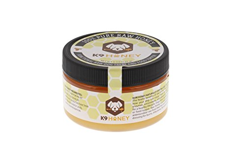 K9 Honey All Natural Raw Unfiltered Honey Dog Food Topper and Treat 6oz