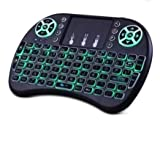 Mini Wireless Keyboard and Mouse(Touchpad with Backlight) with Smart Function for Smart Tv