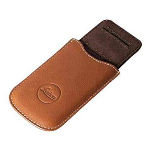 304a7a44bc9 Leica SD Card and Credit Card Holder, Leather, Cognac