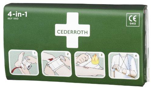 CEDERROTH Universalverband 4-in-1 Blutstiller 14 x 23 cm Inhalt: 1 Kompresse und 2 Binden